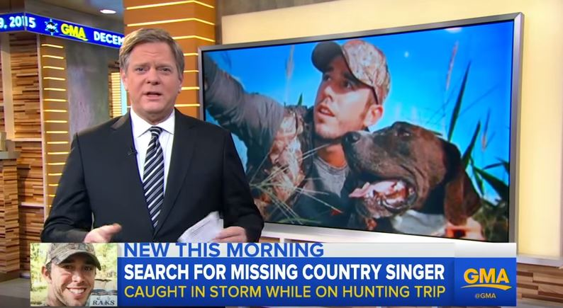 Country Star Craig Strickland Goes Missing on Hunting Trip