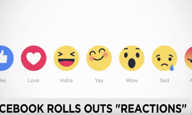 """Facebook Is Coming Out With """"Reaction"""" Buttons"""
