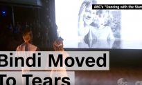 """Bindi Irwin Moved To Tears After Seeing Picture of Her Dad On """"Dancing With the Stars"""""""