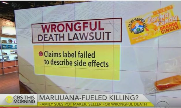 Edible Pot Businesses Sued After Husband Kills Wife