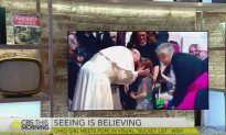 Little Girl Losing Her Sight Gets Her Wish To Meet The Pope