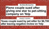 Business Sues Dallas Couple Over Negative Yelp Review