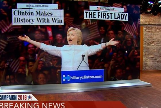 Clinton Makes History With Win