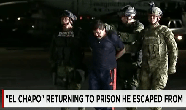 "Kingpin ""El Chapo"" Recaptured"