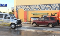 A Four Car Accident Happened in Miami!