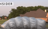 Michael Siciliano's Inflatable Cover Protects your Car from Hail