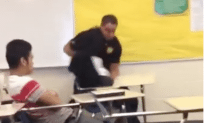 Police Officer Tackles Student During An In Class Arrest