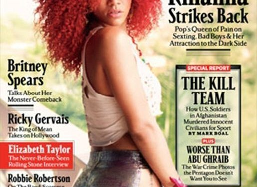 Rihanna Looks Smokin' Hot & Funny on the Cover of Rolling Stone