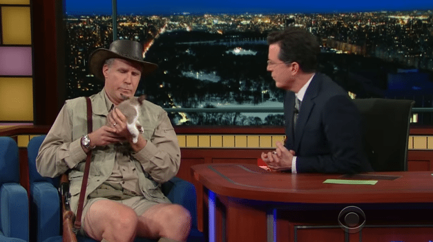 Will Ferrell – Exotic Animal Expert