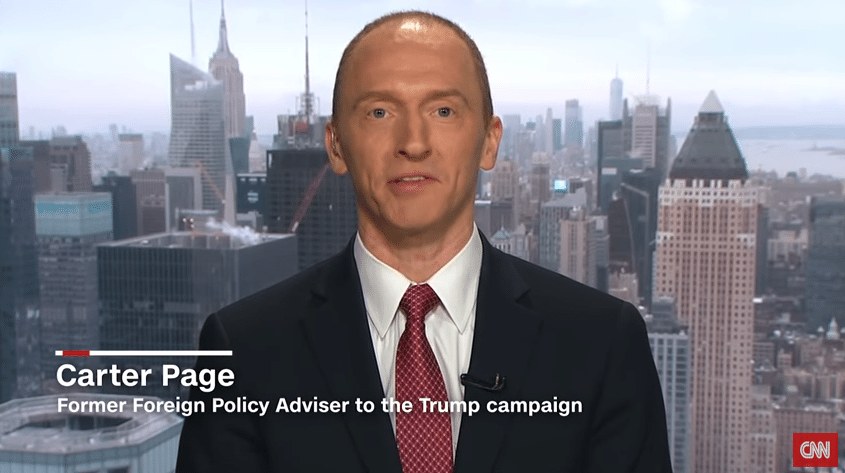 Carter Page Full Interview