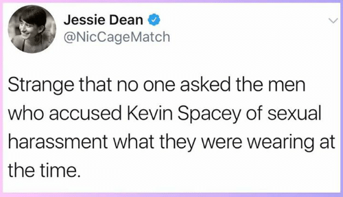 Thoughts on Kevin Spacey