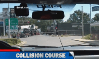 Watch This Train Hit an 18 Wheeler Today