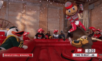 Brutus Buckeye and the Oregon Duck Bull Ride To Decide The National Championship