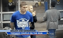 Modern Day Bonnie and Clyde: Two Teens Run Away on a Crime Spree
