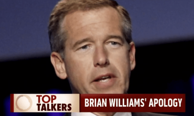News Anchor Brian Williams Lied About His Chopper Being Shot in Iraq