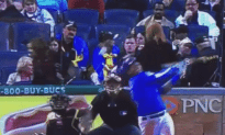 Woman Crushed by Foul Ball Behind Home Plate
