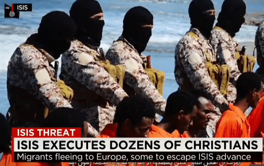 ISIS Kills a Large Group of Christians and Posts the Video Online