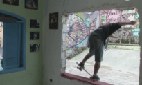 House Turned Into Skatepark