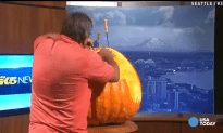 Watch This Guy Turn a Pumpkin Into a Castle in 30 Seconds