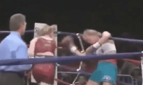 Holly Holm Getting Knocked Out!
