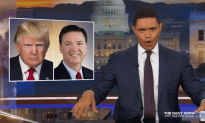 Comey Takes the Stand – Daily Show