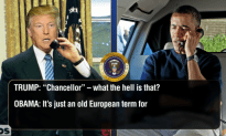 Trump Calls Obama To Talk About Merkel – CONAN