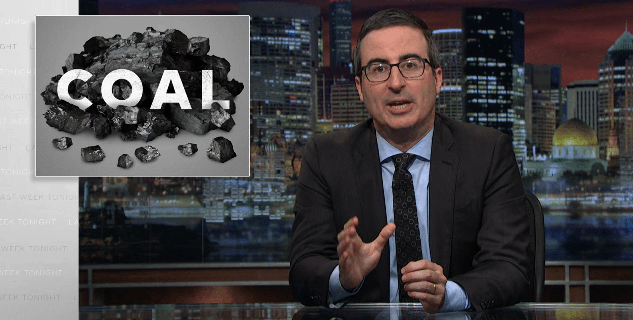 Donald Trump And His Love Affair With Coal – John Oliver