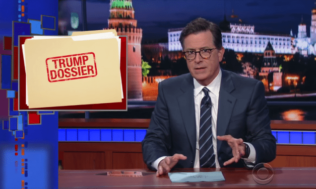 Colbert Rents The 'Trump Pee Pee Tape' Hotel Room