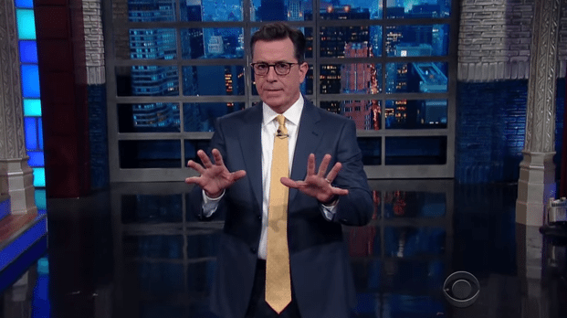 Colbert Creates Some Flake News