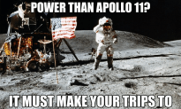 So Says The Unimpressed Astronaut…