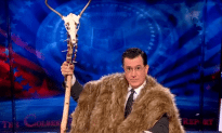Stephan Colbert Names Himself Lord During the Shut Down