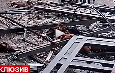 Graphic Video From Right After Today's Bombing in Russia