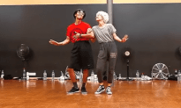 """Elderly Couple"" Dance To Bob Marley"