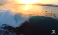 Amazing Aerial Shots Of Surfing
