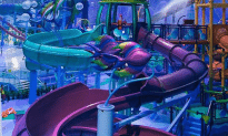 Indoor Water Park is Awesome!