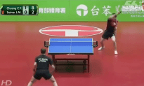 The Funniest Ping Pong Match Ever Played