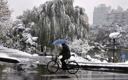 Chinese Government Makes It Snow In Beijing