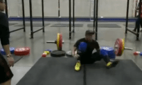 Weight Lifter Instantly Paralyzed in Gym Accident