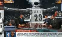 Lebron James Goes Home to the Cavs – Hopefully No One Bangs His Mom This Time!