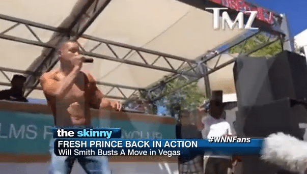 Will Smith Performed a Surprise Show at The Palms in Las Vegas