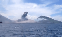 Check Out This  Volcano Eruption in Papua, New Guinea
