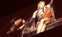 Madonna Brings Out DJ Khaled On Her Tour Stop In Miami!