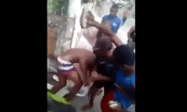 Pedophile Gets Jumped By A Group Of Men