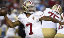 Kaepernick Says He Will Now Stand For The National Anthem