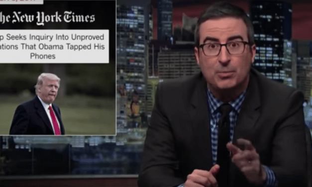 John Oliver Destroys Trump's Obama Wiretapping Tweet