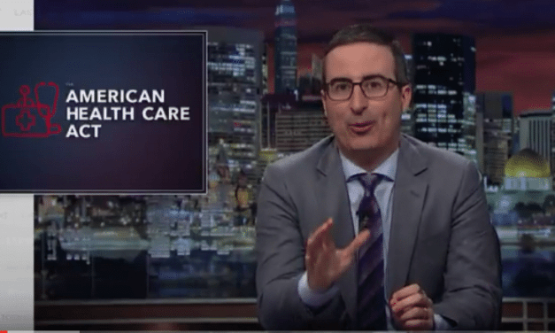 John Oliver Gives His Take On The American Health Care Act