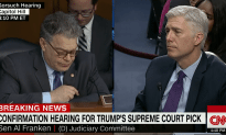 Al Franken Questions Judge Gorsuch