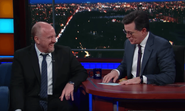 "Louis CK Calls Trump A ""Gross Crook Dirty Rotten Sack Of S***"""