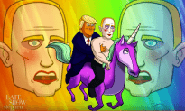 Putin Hates Being Depicted As A Gay Clown