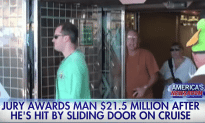 Man Was Hit By Sliding Door On Cruise ship